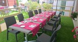 Notre terrasse prête dès les beaux jours !