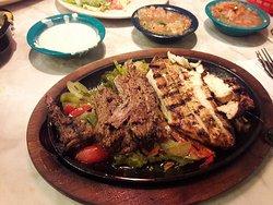 Combo Fajitas were delicious!