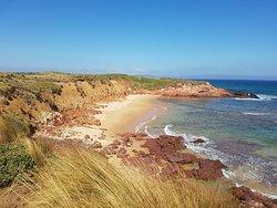 Great walk along the beach