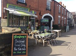 Godfrey's Cafe Bistro in Duffield ( booking recommended )