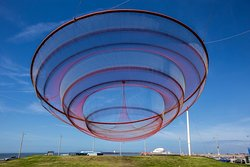 Escultura De Rede De Janet Echelman