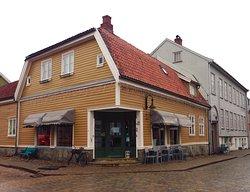 Super koselig cafe i gamlebyen