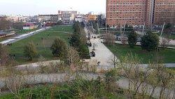 parc dans la ville