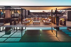 Sushi Bar Rooftop Terrace