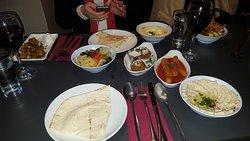 Set meal starters at Beirut