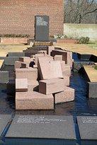 Corinth Interpretive Center Water Sculpture
