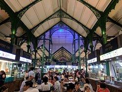 Lau Pa Sat dining area