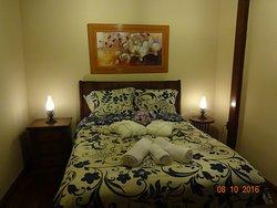 Suíte casal com cama queen