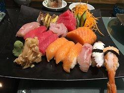 Very good sushi & tori nanban-udon