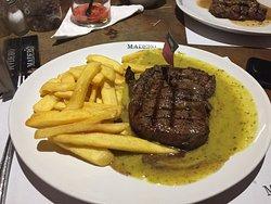 Excelente carne!