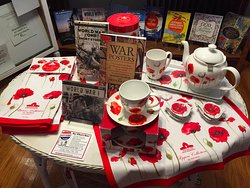 Poppies signify the end of WWI - take some home with you after your visit!