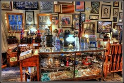 GLASSWARE FOR SALE AT THE OLD COUNTRY STORE