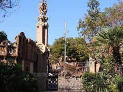Los Pabellones de la Finca Guell