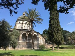 ‪Church of Mount of Beatitudes‬