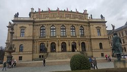 Museum on walk from Prague castle to old town