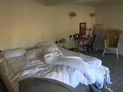 Shabby NOT chic student accommodation...