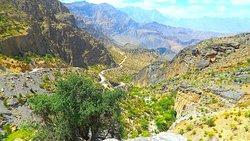 Track Wadi Bani Awf