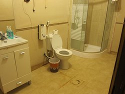 En-suite bathroom with most facilities you would expect