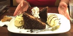 The chocolate dessert for two!