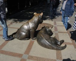 Sculpture Tigers