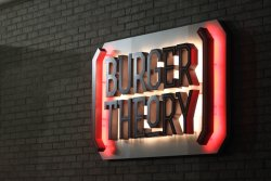 Burger Theory at the Holiday Inn Indianapolis Airport