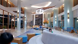 Hotel lobby is not luxury
