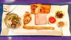 Trilogie de foie gras
