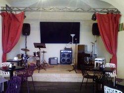 Sala ristorante e musica