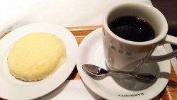 温かいチーズケーキ