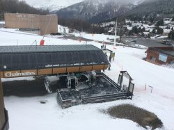 View of Chalmetts chair lift taken from dining room window