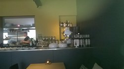 zicht op open keuken