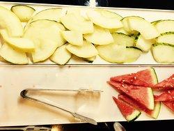 some fruit for breakfast.  health