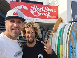 Red Star Surf & Yoga Camp