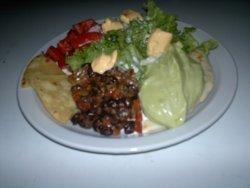 Ensalada vegetariana La Pepa