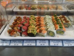 Best sushi ever!  I've been there for twice when I was in Tauranga. They always have fresh sushi