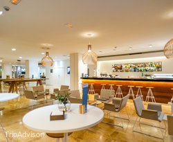 B-Lounge at the Barcelo Bilbao Nervion
