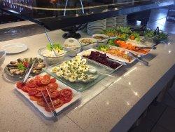 Parte do Buffet de Saladas