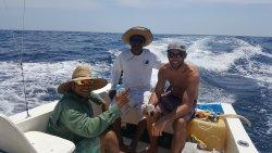 It was a good day, @ Dos Amigos boat with el capitan Santos, el guide Pedro and Edmonton's JAY