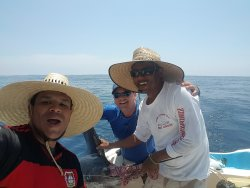EDMONTON is in the house...whooop whoop.Thanks for fishing with us Robert @ El Dos Amigos Boat