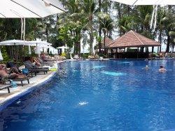 Бассейн и pool bar