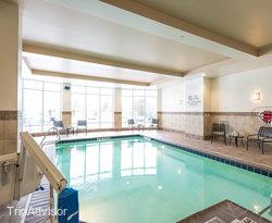 The Pool at the Hilton Garden Inn Salt Lake City Airport