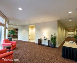 Hallways at the Hilton Garden Inn Salt Lake City Airport