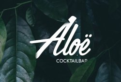 Aloë Cocktailbar
