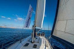 Sailing Crete