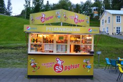 Pylsuvagninn a Akureyri