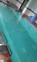 Actual pic of pool area, the ones they put don't match