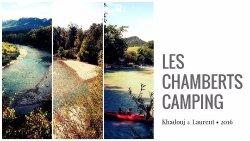 Les Chamberts, Camping & Lodges en bord de rivière, la drôme à Piégros La Clastre.