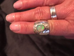 Mexican Fire Opals Jewelry