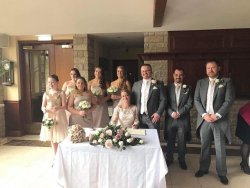 Our wedding at Ferraris