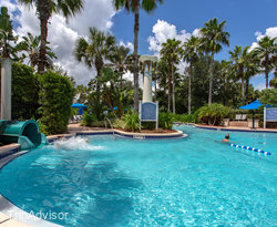 The Main Pool with Lazy River at the Omni Orlando Resort at Championsgate